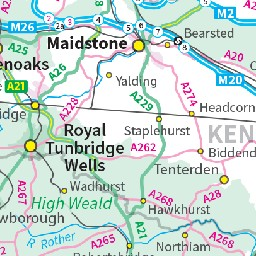 Map Of Uk Detailed.Uk Detailed Topographic Fixed Scale